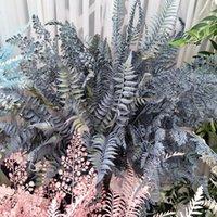 محاكاة النباتات النباتية البلاستيك الأخضر الأوراق العشب السرخس العشب diy العشب جدار ديكور الزفاف الديكور حديقة ديكور المنزل