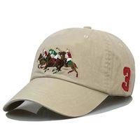 2021 Polo Luxurys Caps Luxus Designer Dad Hat Baseballmütze Für Männer und Frauen Berühmte Marken Baumwolle Justierbare Schädel Sport Golf Gebogene Sonnenhändler