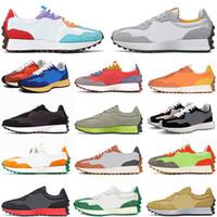 New Balance 327 NB 327 أحذية ركض رجالي عالية الجودة 2021 وصل حديثًا أحذية رياضية رياضية خارجية برايد كيب نيو لهب أسود وأبيض للمشي أحذية