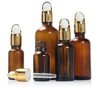 Bottiglie da incasso in vetro ambra 5ml / 10ml / 15ml / 20ml / 30ml / 50ml / 100ml BOTLIGHT PACCHETTO OLIO ESSENZIALE ARMATERAPY Bottiglie liquide all'ingrosso AHC4110