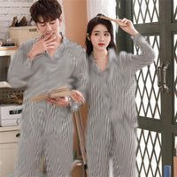 Gelgit Marka Çift Pijama Mektupları Tasarımcı İpek Pijama Sonbahar Pijama Set Erkekler Kadınlar Çift Pijama Sonbahar Uzun Kollu Suit Toptan