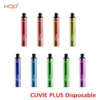 Аутентичные HQD CUVIE PLUS Одноразовые 1200 Puffs Pod Device Vape Pen Kit 950MAH аккумулятор 5 мл Емкость 5% 9 вариантов