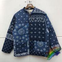 2020fw 캐슈 꽃 KAPITAL 호흡기 JACKET 파카 남성 여성 고품질 버튼 코트 겉옷 의류