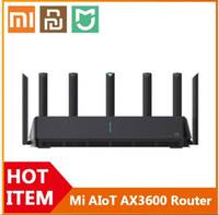 [Bize] Xiaomi Mi AIOT Router AX3600 WIFI 6 Çift Bant 2976 MBS Gigabit Hızı WPA3 Güvenlik Şifreleme Mesh WiFi Harici Sinyal Amplifikatörü