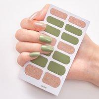 Moda nail art sticker polacco multi modello creativo 3d stereo manicure decorazione decalcomania timbratura a caldo chiodi adesivi arte vendita calda 0 7SS L2