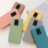 Candy Color Clibon Case для Xiaomi Mi 9 SE 9T Pro A3 A2 8 Lite Cover для Xiaomi Redmi Примечание 9 8 9S 8T 7 6 PRO 7A 9A 9C Мягкий чехол