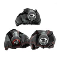 5 Speed Car Gear Lever Stick Shift Knob With PU Leather Boot...