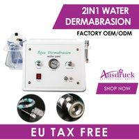 Свободный налог в ЕС 2in1 Новое поступление Hydro DermaBrasion Вода для пилинга Алмазные микродермабразии Гидрофабрикальная машина красоты для лица