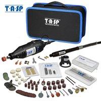 TASP 230V 130W Dremel Rotary Tool مجموعة كهربائية مصغرة الحفر حفارة كيت مع الملحقات أدوات الطاقة للمشاريع الحرفية 201226