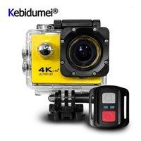 F60 F60R Ultra HD 3K Caméra de sport Caméra de sport WIFI Caméscopes 16MP 2 pouces Écran Action sans fil étanche1