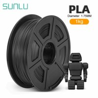 Sunlu Pla 3D الطابعة خيوط 1.75 ملليمتر 1 كيلوجرام مع بكرة البلاستيك لطباعة 3D pla خيوط المواد الطباعة 3D