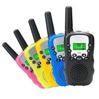 Walkie Talkie RT388 Kids Walkie-Talking 2 шт. Мини Двусторонняя радиостанция PMR Детский подарок / семейное использование / кемпинг 100-800м1
