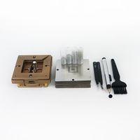 Yüksek Kalite 90mm Gümüş BGA Reballing Istasyonu Allen Anahtar ile PCB Chip Lehimleme Rework Onarım PCB Chip Lehimleme Rework Için
