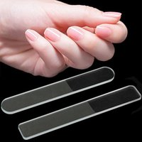 Pliki do paznokci Professional Nano Szklany Bufor Polerowanie Pasek Polerka Trwałe Szlifowanie Salon Plik Manicure z Case