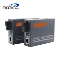 1 Pair Gigabit HTB-GS03 A / B Optischer Faser-Netzwerk-Medienwandler FIBRA Optic Transceiver Converter Single Mode Single Faser1