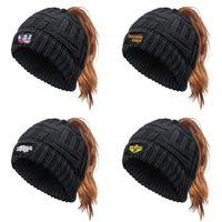 Beastie Boys Logo Küreselleşme Glitter At Kuyruğu Beyzbol Şapka Pony Caps Visor Baba Kap Moda Trucker Hasır Kadınlar Için Turuncu Beyaz