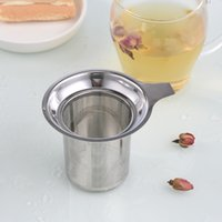 Edelstahl Mesh Tee Infuser Gute Note Wiederverwendbare Teesieb Lose Tee Blatt Filter Metall Tee TEAS SIEBEN Kräutergewürzfilter 6 L2