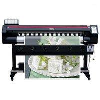 고해상도 DX7 에코 솔벤트 프린터 1600mm 롤 롤 롤 롤 롤 인쇄 기계 캔버스 스티커 최고의 비닐 프린터 1