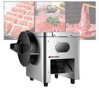 Slicer commercial de viande électrique de viande et de légumes de viande de bureau, machine à découper, manuelle 220v / 110v1