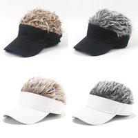 2020 Fashion Unisex Wig Baseball Caps Creative Men Sport Camping Hat Outdoor Women Travel Sun Cap