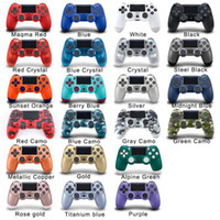 Wireless Bluetooth PS4-Game Controller 22 Farben für Sony Play Station 4 Game System in Retail Box PS4 Controller DHL Freies Schiff