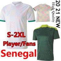 2021 Senegal Soccer Jerseys National Football Mae Koulibaly Gueye Kouyate Sarr Homme Maillot de Foot Football Uniformes