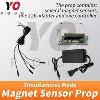 Fingerprint Access Control Sensore del magnete Versione simultanea Escape Room Prop Four Time per rilasciare YOTOOD Takagism Gioco Puzzle Aperto M