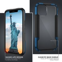New IPhone12 Mobile Phone Case Four-Corner Alloy Rim Is Suitable For All Kinds Of Apple 12 Mobile Phone Cases Fall Protection Cover Case