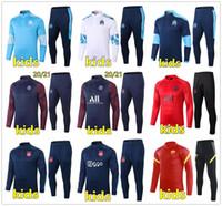 20 21 Kids Football Training Suit Soccer Bracksuit 2020 2021 Kids Football Tracksuit Survetement Chandal الركض مجموعات