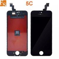 2021 LCD Ekran iPhone 5 5 S 5C Dokunmatik Ekran Digitizer Meclisi Değiştirme LCD Dokunmatik Panel 100% DHL ile Test Ücretsiz Kargo