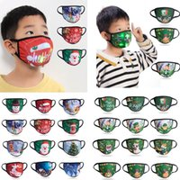 24 styles Kids Christmas Led Mask Cotton Children Dust proof Handing Luminous Masks Free DHL Ship HH9-3614