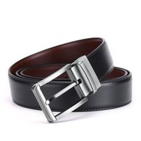 New Fashion Mens Business Business Cinturino Ceinture Fibbia Automatica Cinture in vera pelle per uomo in vita cintura spedizione gratuita