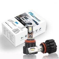 المصابيح الأمامية للسيارة P9 المصباح LED لمبات المصابيح H8 H9 H11 H16 (JP) H7 H4 3 9006 9012 سوبر مشرق السيارات مصابيح 100 واط 13600lm headlamp1