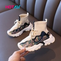 2020 Sneakers Kids Sport Shoes For Boys Autumn Sock Casual Children Shoes Baby Boys Child Shoes Chaussure Enfant Y1118