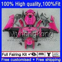 100% Fit For HONDA CBR600F5 CBR600 RR CBR600RR 05 48HM.235 Rose black CBR 600RR CBR 600 CC RR 600CC F5 05 06 2005 2006 Injection Fairings