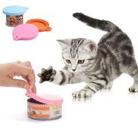 الحيوانات الأليفة الغذاء يمكن أن تغطي السيليكون العالمي يمكن أن يغطي الكلب القط علب الغذاء يناسب معظم حجم قياسي BPA الحرة JK2012KD
