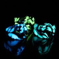 Fashion Glow In The Dark Anelli Vintage Donne Retro Mens Luminoso Dragon Shape Finger Anello per il regalo di gioielli punk maschile 296 G2
