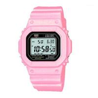 Venta caliente moda estudiantes relojes deportivos digitales top marca led mujeres relojes a prueba de agua reloj unisex reloj con caja mejor regalo R1