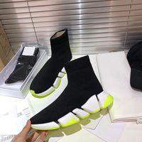 2021 جديد أربطة الفاخرة عارضة الجوارب أحذية كرة القدم سرعة المدرب الأسود الأزياء الكلاسيكية الجوارب الأحذية الرياضية أحذية رياضية