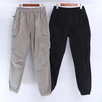 Pantalones de ropa para hombres Pantalones casuales Hombres Multi de bolsillo Jogging Medias en primavera y verano Retro Moda de moda Monos de corsé