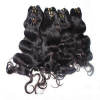 Moda rainha a granel cabelo 3 pçs lote 50g peça corpo onda indiano cabelo humano tecelagem com entrega rápida