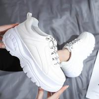 Kadınlar rahat ayakkabılar yeni parlak aşınmaya dayanıklı rahat küçük beyaz ayakkabı kadın spot spor ayakkabı
