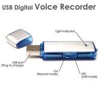 شحن مجاني مصغرة واحدة USB FlashButtron تسجيل، Dictaphone V01 8GB 2 في 1 مسجل الصوت الرقمي القلم، مسجل صوت قرص USB للقاء