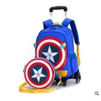 Sacos de viagem de Ziranyu para garoto menino trole escola mochila sacola de rodas para saco de trole escolar em rodas escola rolando mochilas y200107