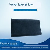 Jacquard Velvet Latex Low Pillow Color Solid Color Semplice Piano Piano Single Wave Latex all'ingrosso
