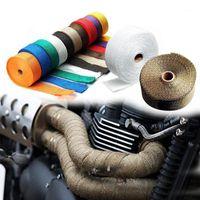 Cinta térmica de tubo de escape de la motocicleta para MT 10 VMAX 1200 FAZER 1000 XJR 1200 FZ 16 NMAX 125 Dragstar 1100 DT 1251