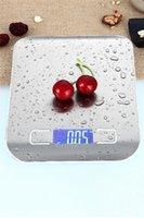 Mini dijital mutfak ölçeği ağırlık gram ve pişirme pişirme için oz 1g / 0.1oz hassas mezuniyet paslanmaz çelik ve temperli cam CCA3332