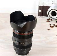 Camera Lens Coffee Mug Photo Coffee Cup Stainless Steel Thermos For Photographer Christmas Gift mug KKA8300