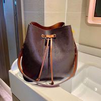 20sses de luxe de luxe Néonoé Femmes Sacs Mode Mode Classic Lettre Florals Targuant Bucket Causal String Lady Sacs à main Sacs à bandoulière 2021 Nouveau