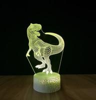 3D Üç Boyutlu Aydınlık Lamba Standı 3D Gece Işık Gece Işık Renkli Gece Lambası LED Dokunmatik Uzaktan Kumanda